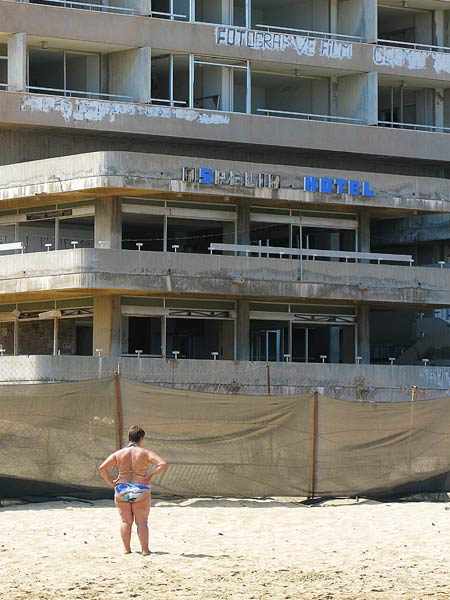 Abandonded Hotel In UN Buffer Zone, Famagusta Jamie: This is one of my favourite photographs I