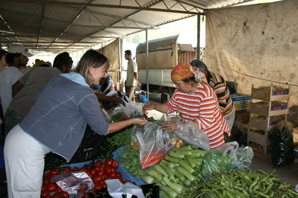 Market day in Gocek
